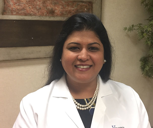 certified rheumatologist Dr. Brinda Dixit